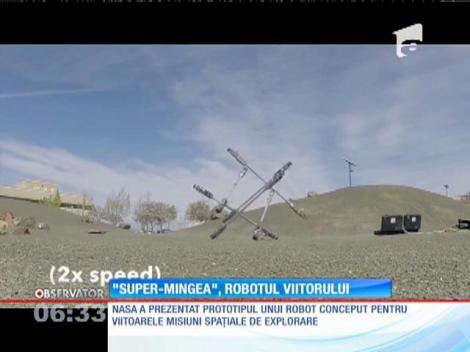 "NASA a prezentat imagini cu un robot inedit - ""SuperMingea"""