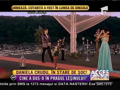 Daniela Crudu, adusă în pragul leșinului