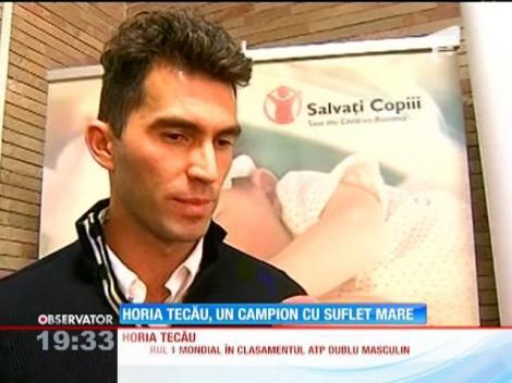 Horia Tecău s-a întors în ţară, după ce a devenit numărul 1 mondial la dublu