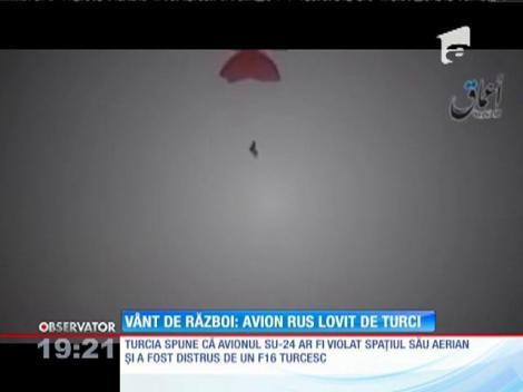 Vânt de război! Avion rus lovit de turci. NATO dezbate incidentul într-o reuniune de urgenţă