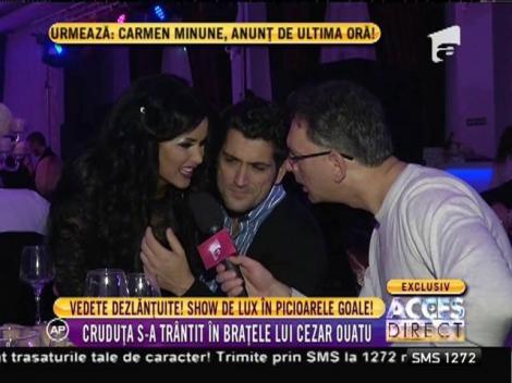 Daniela Crudu, profesoara de italiană a lui Cezar Ouatu!
