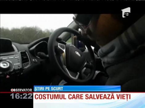 Costumul care poate simula efectele consumului de droguri la volan