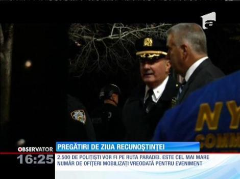Măsuri de securitate fără precedent la parada de Ziua Recunoştinţei din New York