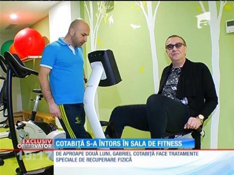 Gabriel Cotabiţă s-a întors în sala de fitness