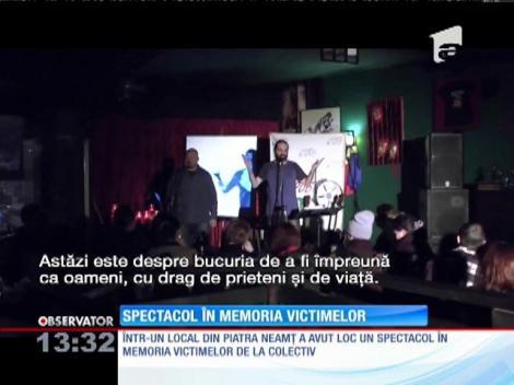 Spectacol la Neamţ, în memoria victimelor de la Colectiv
