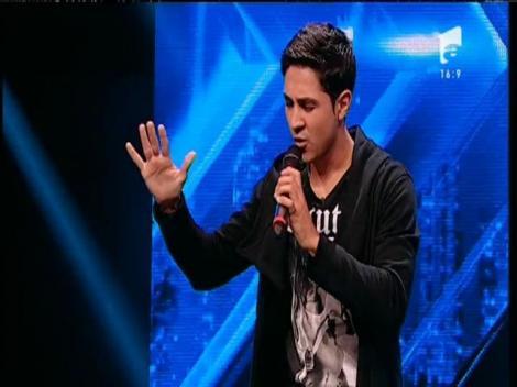 """John Legend – """"All of me"""". Vezi interpretarea lui Dumitru Charbel, la X Factor!"""