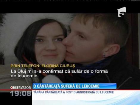La o lună de la nuntă, o artistă a aflat că suferă de o boală cruntă! Florina Ciuruş, de 24 de ani, are leucemie
