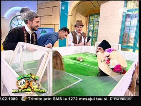 """""""Suflo-fotbal"""" la Neatza! Horia Tecău a intrat în joc"""