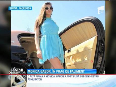 Monica Gabor este în prag de faliment