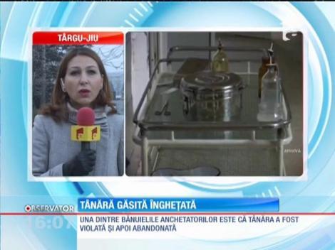 O tânără, în şoc hipotermic, a fost găsită la marginea oraşului Târgu-Jiu