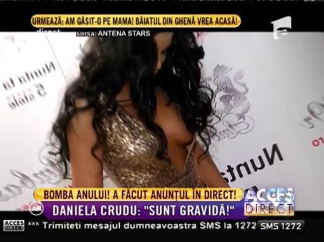 Daniela Crudu a anunțat că este gravidă! Toți au fost luați prin surprindere de veste!