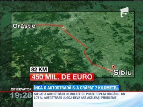 Demolarea autostrăzilor construite devine un obicei, în România. Sectorul Lugoj - Deva ar putea avea aceeaşi soartă ca Sibiu - Orăştie