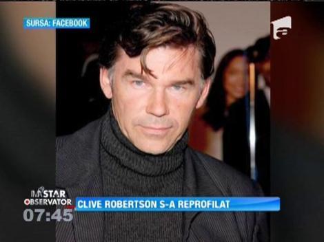Actorul Clive Robertson stă departe de lumea cinematografiei
