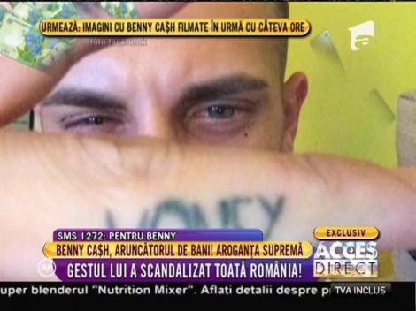 A aruncat cu bani pe stradă și și-a pus toată România în cap!