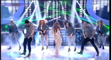 Cine s-o oprească? Tania Popa a fost o Jennifer Lopez perfectă!