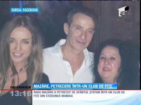 Radu Mazare, petrecere intr-un club de fite