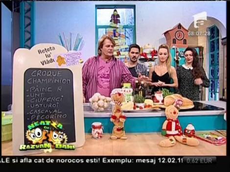 O rețetă inedită cu ciuperci: Croque Champinion