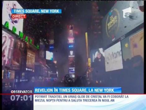 Revelion în Times Square, la New York