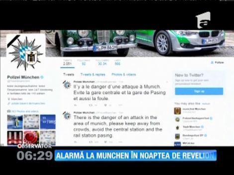 Informații privind un atentat terorist la Munchen, în Noaptea de Revelion