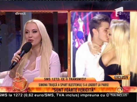 """Simona Trașcă s-a logodit la Paris: """"Am început să plâng, nu mai știu ce mi-a zis!"""""""
