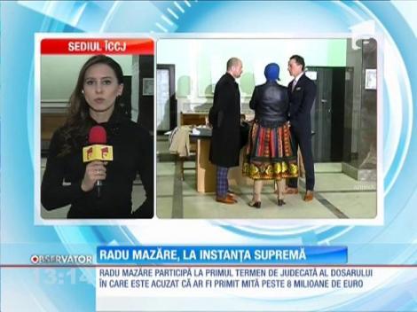 Radu Mazăre participă la primul termen de judecată al dosarului în care este acuzat că ar fi primit mită