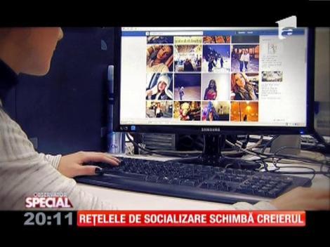 Special! Rețelele de socializare influenţează funcţionarea creierului şi sănătatea mintală