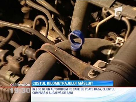 Kilometrajul dat înapoi îi costă peste 300 de milioane de euro pe an, pe şoferii români
