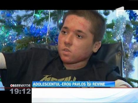 Adolescentul-erou, care şi-a salvat prietenul în scaun cu rotile din Colectiv, îţi revine