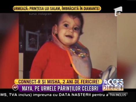 Este cea mai importantă zi din viața lui Connect-r! Fiica lui, Maya, a împlinit doi anișori!
