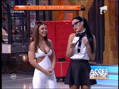 Daniela Crudu, școlărița păcătoasă și sexy, dans fără inhibiții!