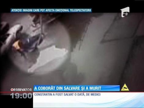 Imagini şocante la Iaşi! Un bărbat a murit pe stradă după ce a coborât din ambulanţa care îi dăduse primul ajutor!