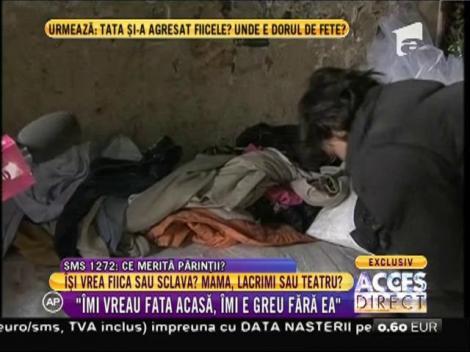 O poveste cutremură România. Sara, fetița transformată în sclavă de propria mamă, a primit o vizită neașteptată!