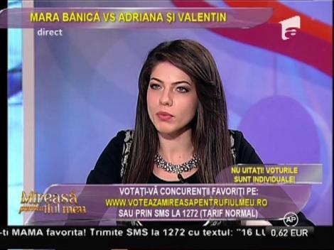 """Mara Bănică acuză: """"Adriana are o atitudine agresivă față de celelalte concurente"""""""