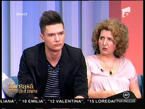Luiza, dezamăgită de agresivitatea în declarații manifestată de fiul ei