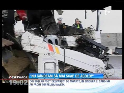 Supravieţuitorii tragediei de la Ploiești sunt în stare de șoc