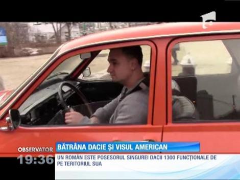 Un român stabilit la New York vrea să traverseze Statele Unite cu o Dacia 1300
