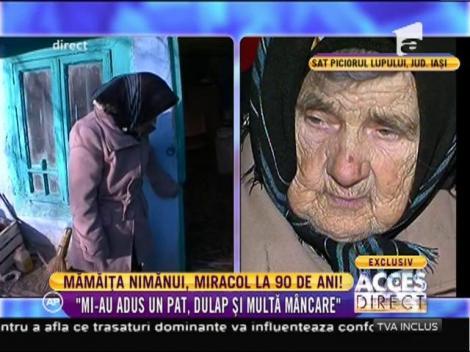 Povestea impresionantă a bătrânei Ileana a reuşit să mobilizeze sute de români!