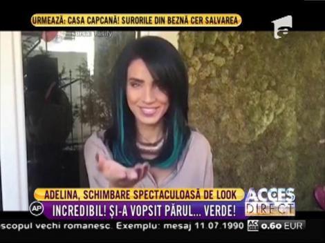 Adelina Pestriţu a făcut o schimbare spectaculoasă de look