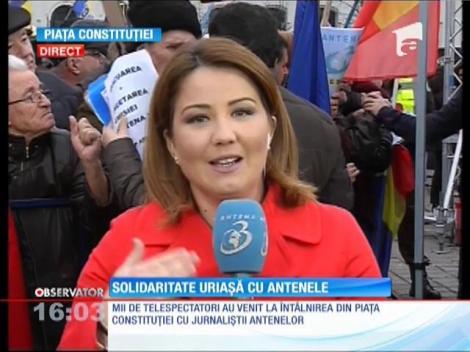 Întâlnirea dintre vedetele Antena 1, Antena Stars, Euforia, Zu Tv şi jurnaliştii Antena 3 şi telespectatorii noştri a început