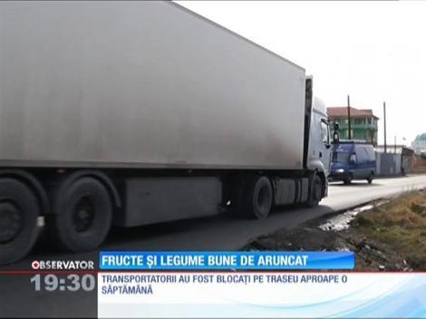 Tone de fructe şi legume stricate au ajuns în depozitele din jurul Capitalei