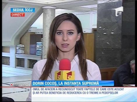 Omul de afaceri Dorin Cocoş a ajuns în faţa Instanţei