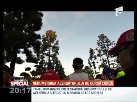 Special! Daniel Osmanovici a alergat 42 de kilometri, la maratonul din Los Angeles