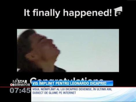 Leonardo DiCaprio, subiect de glume pe internet. Care sunt cele mai recente bancuri cu actorul după ce a câștigat Oscarul