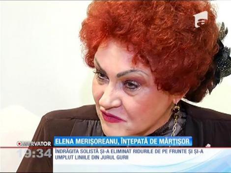 Elena Merişoreanu s-a întinerit cu ajutorul injecţiilor cu botox