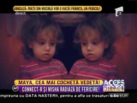 Maya, fiica lui Connect-R, o domnișoară modernă și cochetă!