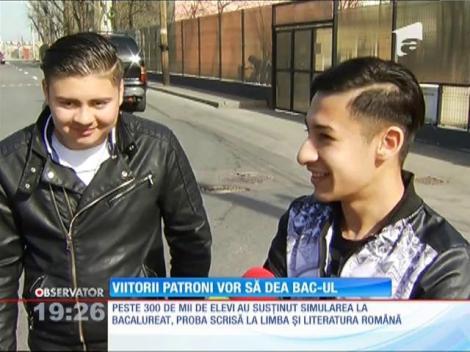 Peste 300 de mii de adolescenţi au simulat prima probă a examenului de Bacalaureat, limba română