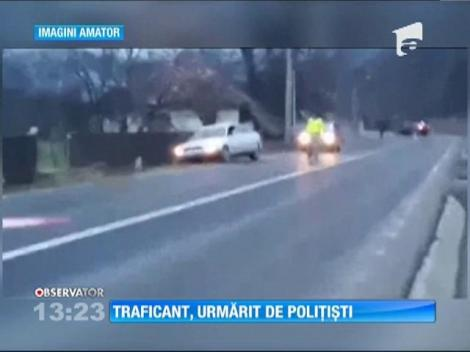 Traficant, urmărit de polițiștii de frontieră din Baia Mare