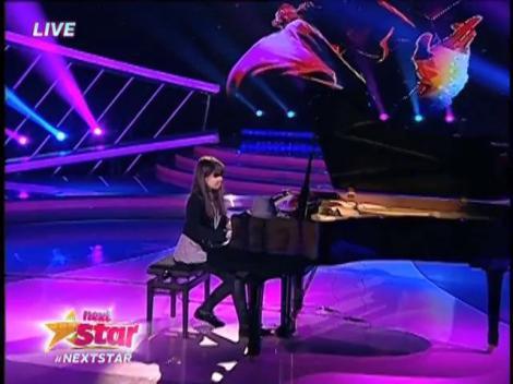 Recital la pian de excepție! Vezi interpretarea Sabinei Suciu pe scena Next Star