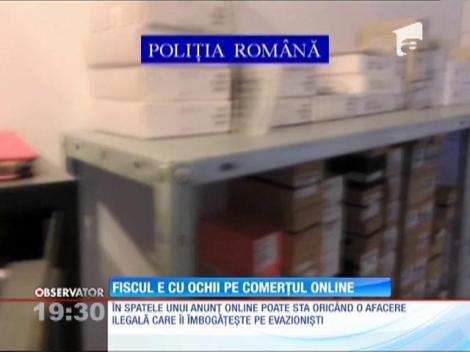 Fiscul vrea să combată evaziunea fiscală şi în online. Un bărbat a fost arestat, în Bucureşti, după ce a vândut mii de produse electronice, pe Internet