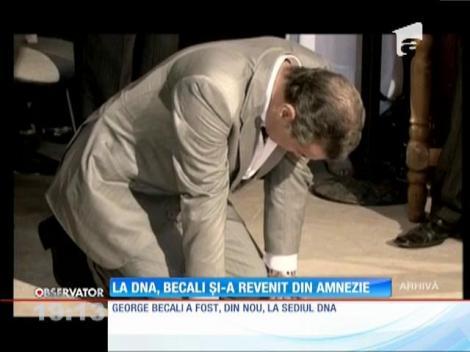 La DNA, lui George Becali i-a revenit brusc memoria